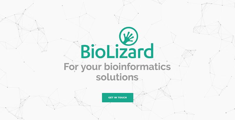 Launch of BioLizard's website, lizard.bio!