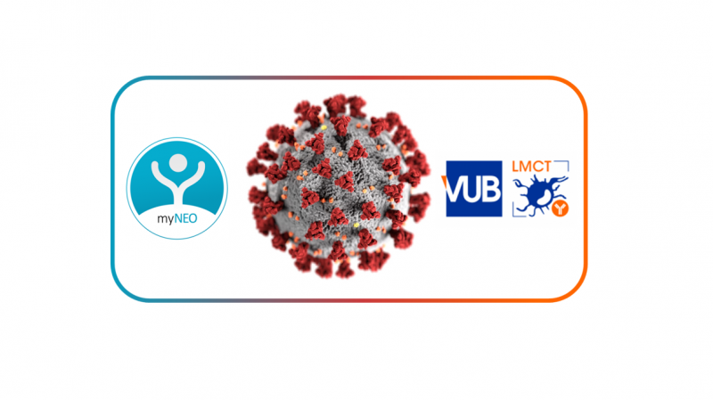 myNEO and VUB-LMCT collaborate on Covid-19