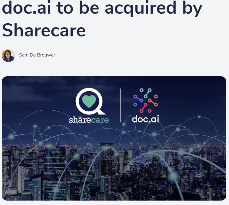 Doc.ai acquired by Sharecare